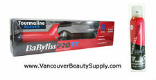 "Babyliss Pro Tourmaline Ceramic Curling Iron (1-1/2"") + Shine Spray - Xmas Pack"