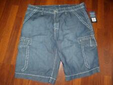 NWT TRUE RELIGION Big T TROOPER Tie Wash CARGO Shorts..Size 42