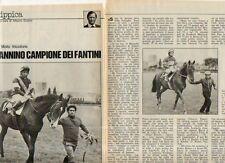 MA129-Clipping-Ritaglio 1976 Renato Sannino Spindly