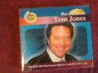 JONES TOM- BEST IN MUSIC. DOPPIO CD NUOVO SIGILLATO.
