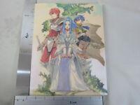 MINAKO IWASAKI ARTWORKS Art Book w/Poster Rune Factory Ys SB19*