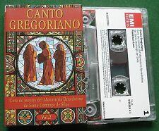 Canto Gregoriano Vol 2 Benedictino Santo Domingo de Silos Cassette Tape TESTED