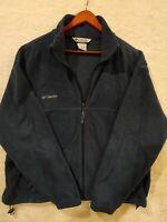 Columbia Sportswear Men's Fleece Zip-up Jacket - Turquoise Green  - XL