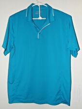 Mens Nike Golf Performance Dri Fit Shirt Teal Large Quicken Loans National