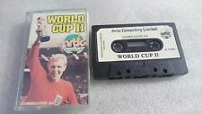 WORLD CUP II JUEGO CASSETTE COMMODORE CMB 64 C64 PAL