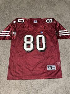 VTG Starter San Francisco 49ers Jerry RIce Jersey Red Youth Size XL NWOT