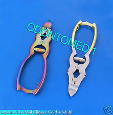 Mycotic Toe Nail Clipper Gold + Multi Surgical Instruments