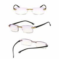 6PCS Rimless Reading Glasses for Reader Ultra-Light +1.0 1.5 2.0 2.5 3.0 3.5 4.0
