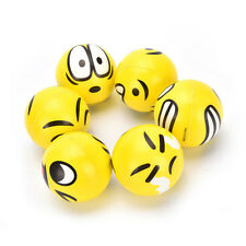 Funny Smile Face Anti Stress Reliever Ball ADHD Autism Mood Toy Squeeze Relie ME