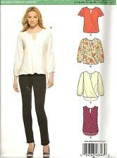 NEW LOOK 6303 PULLOVER TOP TUNIC SEWING PATTERN 8 10 12 14 16 18 20 MODERN NEW