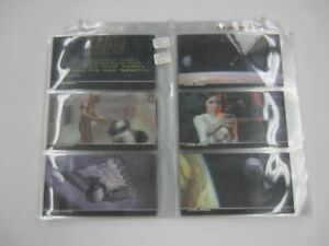 1994 Topps STAR WARS A New Hope WIDEVISION Complete Card Set Plus 3 Promo Cards
