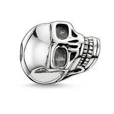 Genuine Thomas Sabo Karma Bead Large Skull Sterling Silver RRP $95