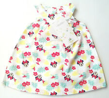 OA Kleid Minnie Mouse Gr.62 baby Club NEU 100% Baumwolle Disney weiß bunt sommer