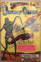 Superman's Pal Jimmy Olsen #57 Dec 1961 DC Silver Age Comic