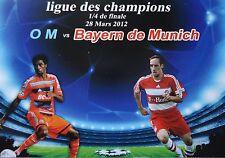 Karte UEFA CL 2011/12 Olympique Marseille - Bayern München