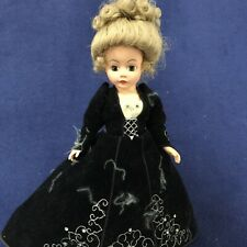 Diamond Lil Porcelain Jointed Sleepy Eye Doll Madame Alexander w/ Stand