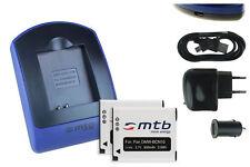 2 Akkus + USB-Ladegerät DMW-BCN10E für Panasonic Lumix DMC-LF1