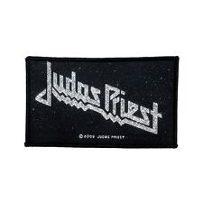 """Judas Priest"" Classic Logo Heavy Metal Band Music Woven Sew On Applique Patch"