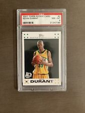 2007 Topps Kevin Durant Rookie Card PSA 8 🔥🔥🔥