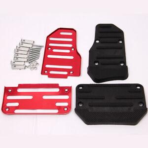 2Pcs Automobile General Anti-Skid Automatic Air Brake Pedal Cover Accessories