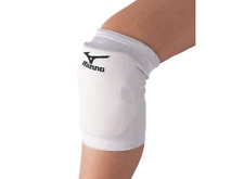 Mizuno Japan Volleyball Knee Supporter with Pad 59SS320 White Black