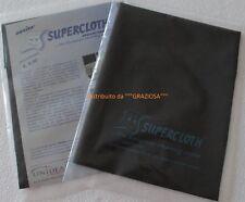 PANNO SCRACCHIO  SUPERCLOTH - L'ORIGINALE- UNIDEA - PER PULIRE ARGENTO E METALLI