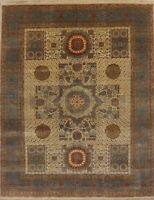 Modern Indo Wool Oriental Geometric Area Rug 8 x 10 Handmade Carpet NEW