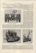 1922 Gwynne Chassis Crossley Engine Rear Axle