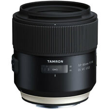 Tamron SP 85mm F1.8 Di VC USD Lens in Canon Fit (F016)