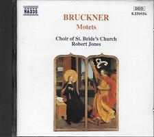 CD album: Bruckner: Motets. Robert Jones . naxos. M