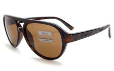 SERENGETI GIORGIO UNISEX SUNGLASSES DARK TORTE POLARIZED BROWN DRIVERS 8184