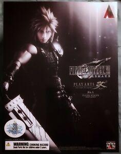 NEW Authentic Square Enix Final Fantasy VII Remake Cloud Strife Action Figure