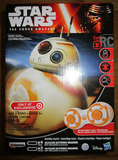 STAR WARS FORCE AWAKENS REMOTE CONTROL BB-8 ROBOT RC TARGET EXCLUSIVE