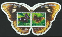 PITCAIRN ISLANDS 2005 BUTTERFLIES S/S MINT NH STAMPS PO FRESH COND.