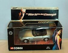 CORGI JAMES BOND BMW Z8 05001 The Definitive Bond THE WORLD IS NOT ENOUGH Boxed