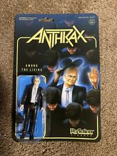 """ANTHRAX Among The Living ReAction Figure Thrash Metal Punk Super 7 3 3/4"""" Toy"""