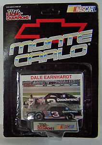 1993 Racing Champions 1:64 DALE EARNHARDT #3 Goodwrench Monte Carlo PROMO