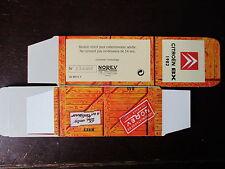 BOITE VIDE NOREV  CITROEN BX 1982  EMPTY BOX CAJA VACCIA