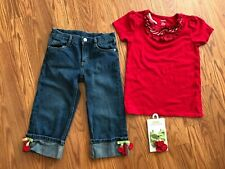 Gymboree girls Cherry outfit size 7