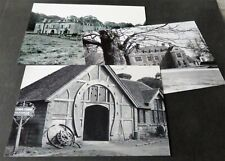 SET OF 3 GLYNDE & FIRLE PHOTOGRAPHS,  EAST SUSSEX 1950-60s
