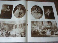 ILLUSTRATION 1922 4136 PEINTURE SECOND EMPIRE TOURNON MUTILE LILLE BOIN SERBIE