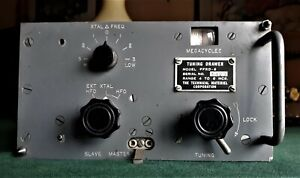 FFRD-6 Tuning drawer for the AN/FRR-49 military receiver