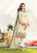 New Alkaram lawn cotton shalwar Kameez