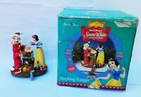 Disney Snow White & Seven Dwarfs Stocking Hanger Holder Disney Classics Box Vtg