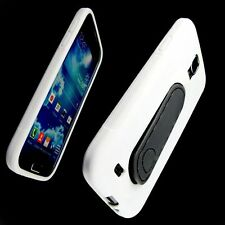 Samsung Galaxy S4  i9500 Urban Impact Displacement Case Belt Clip  White
