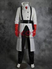 Team Fortress 2 Medic White Cosplay Costume Custom mp000577