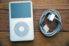 White Apple iPod Classic 5th Generation 30GB MA444LL/A A1136