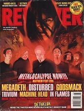 Revolver July / August 2011 Disturbed, Dethlok, In Flames 102916DBE