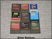 (9) Atari 400/800/XE/XL Cartridges - Centipede, Pac-Man, Qix + - SHIPS FREE!