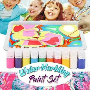 6 Color/set Marbling Painting Kit DIY Painting on Water Creative Art
